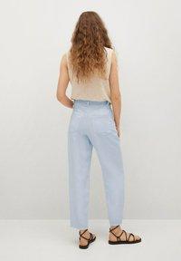 Mango - Trousers - sky blue - 2