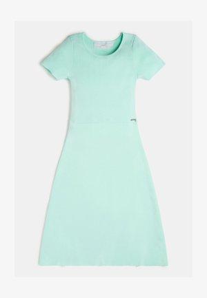 RIPPEN - Korte jurk - green multi