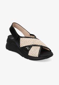 Hispanitas - Sandalen met sleehak - black - 0