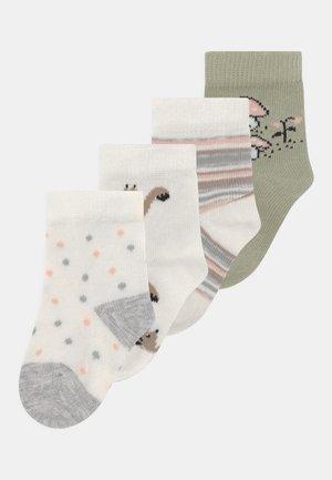 NBFKINI 5 PACK - Socks - snow white