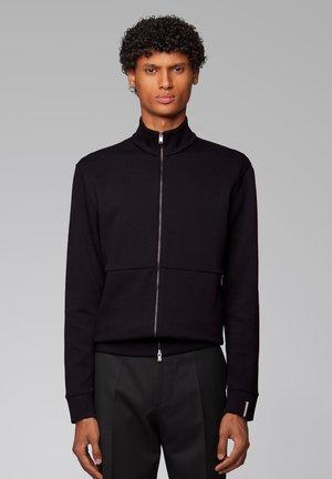 SIDNEY - Zip-up hoodie - black