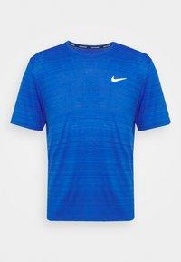 MILER  - T-shirt - bas - game royal/reflective silver