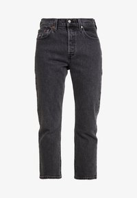 501® CROP - Straight leg jeans - cabo fade