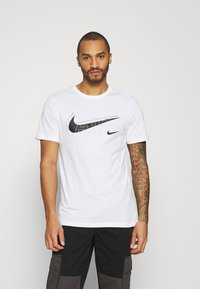 Nike Sportswear - TEE AIR - Camiseta estampada - white - 0