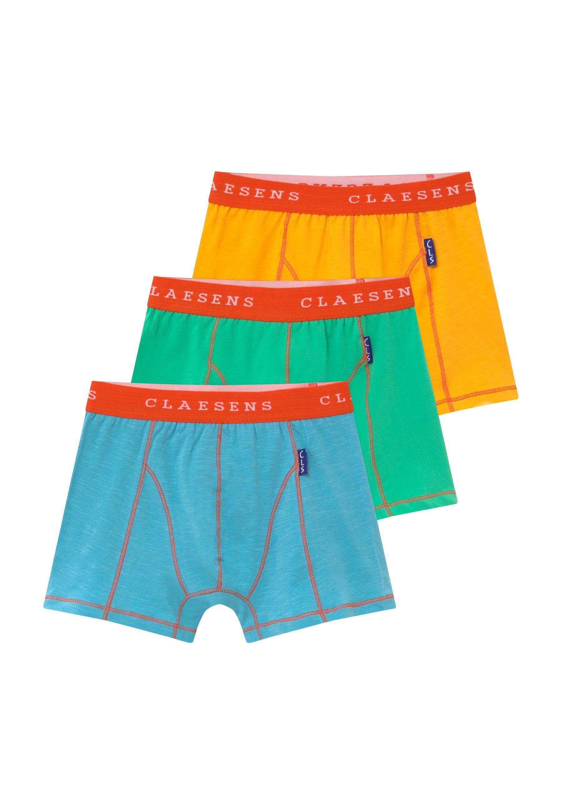Claesen's Boys Boxer 3 Pack - Pants Blue/green/orange
