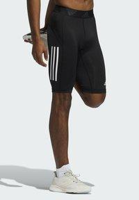 adidas Performance - FOR THE OCEANS PRIMEBLUE TECHFIT SHORT TIGHTS - Pantalón corto de deporte - black - 3