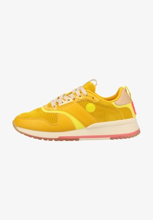 Trainers - yellow gold s
