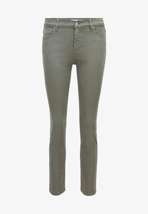 Slim fit jeans - dark green