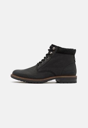 WOLSINGHAM - Lace-up ankle boots - black