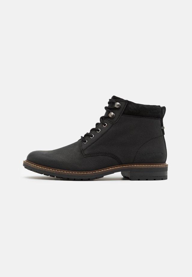 WOLSINGHAM - Lace-up ankle boots - black