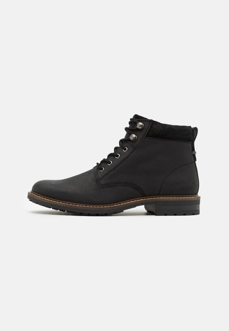Barbour - WOLSINGHAM - Lace-up ankle boots - black