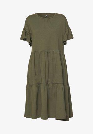 ONLTENNA LIFE CUTLINE DRESS - Jerseykjole - kalamata
