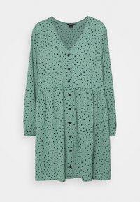 Monki - TORBORG DRESS - Vestito estivo - green irrydot - 4