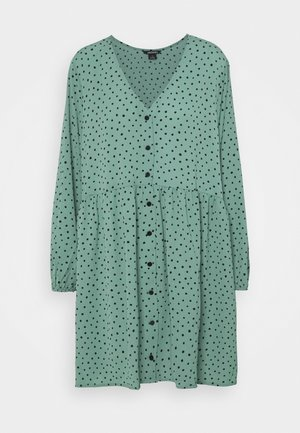 TORBORG DRESS - Day dress - green irrydot