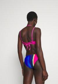 Polo Ralph Lauren - PLUNGE BACK BRA - Bikini top - fuchsia - 2