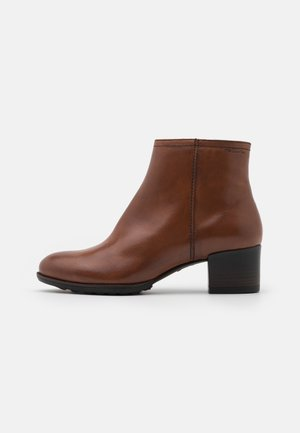 BOOTS - Classic ankle boots - mahogany
