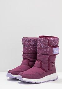 KangaROOS - K-FLUFF RTX - Winter boots - fuchsia/lavender - 3