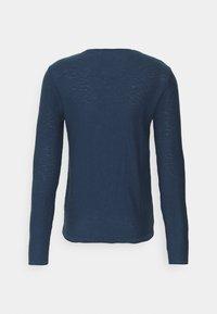 Blend - Stickad tröja - dark denim - 7