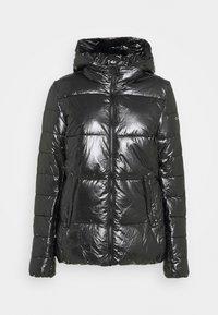 HOODED JACKET LEGACY - Zimní bunda - black