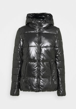HOODED JACKET LEGACY - Winterjacke - black