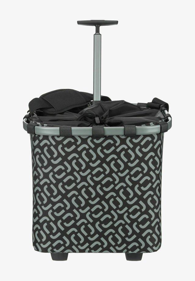 Wheeled suitcase - signature black