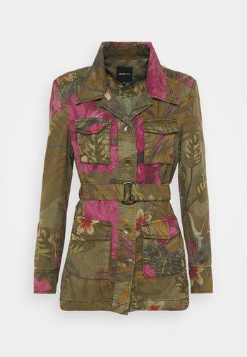 CAMOASIS - Summer jacket - green