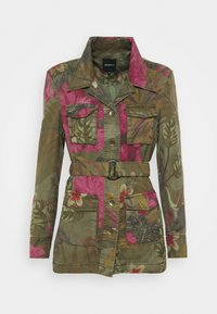 Desigual - Summer jacket - green - 4
