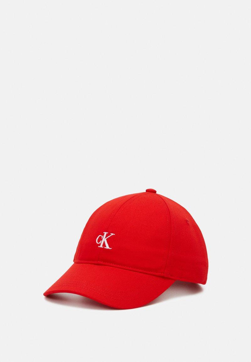 Calvin Klein Jeans - MONOGRAM BASEBALL UNISEX - Cap - red