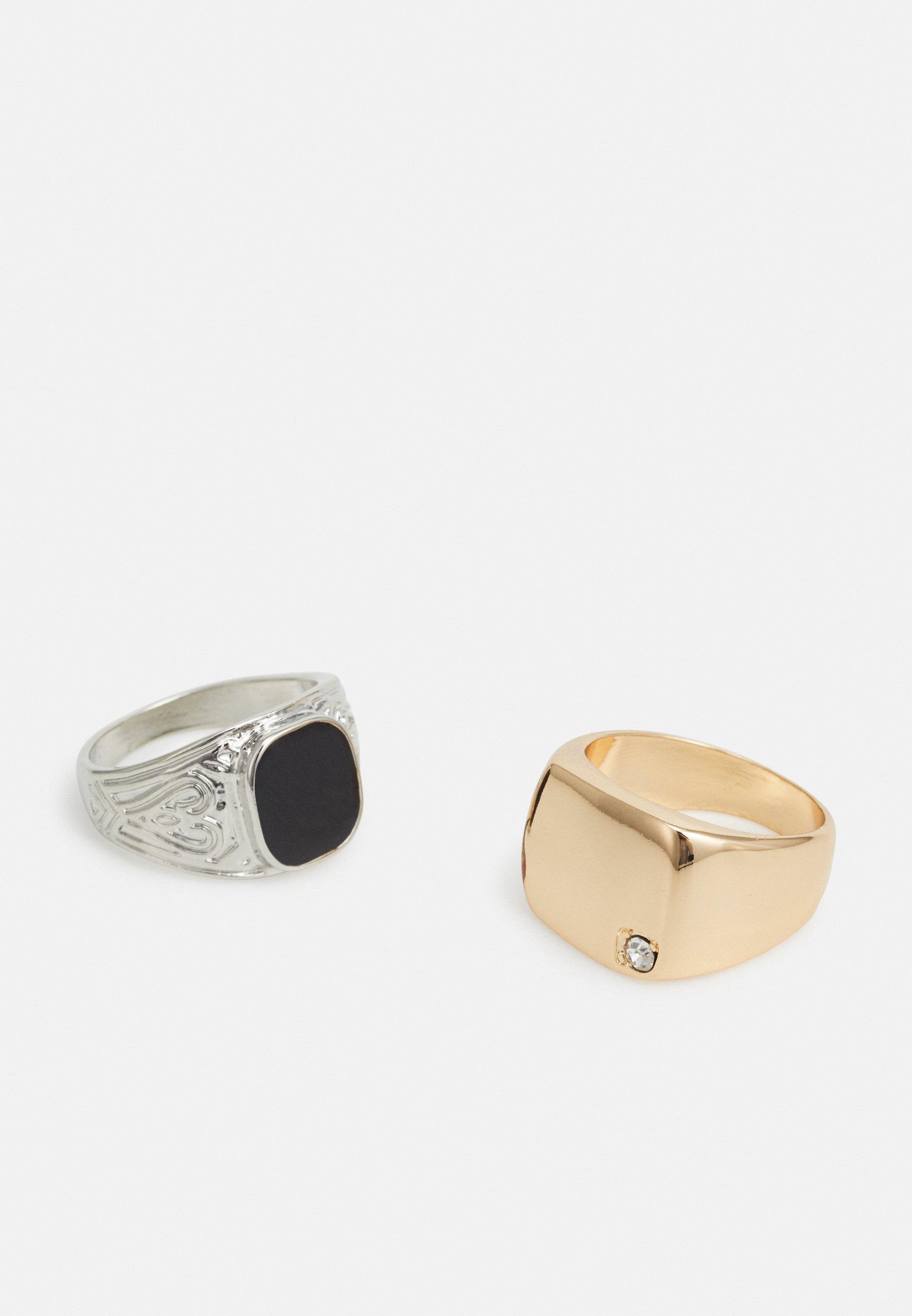 Vintage Supply 2 PACK - Ring - silver-coloured/gold-coloured/sølv 3i5v7W7yIeZFwBz