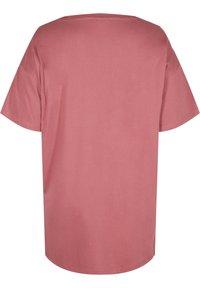 Zizzi - Basic T-shirt - deco rose - 5