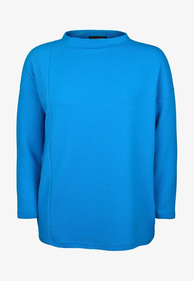 MIT STEHKRAGEN - Jumper - blue
