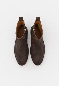 Shabbies Amsterdam - Bottines - dark brown - 5