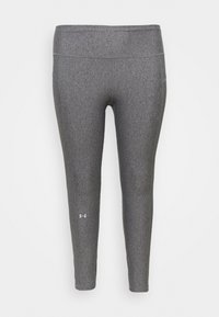 Under Armour - HI RISE LEGGINGS - Collant - charcoal light heather - 3