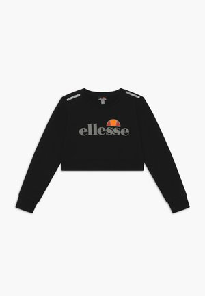 MARAFON CROPPED - Felpa - black