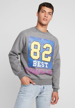 CREW NECK - Sweater - grey melange