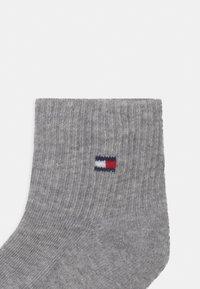 Tommy Hilfiger - FLAG 4 PACK UNISEX - Socks - light grey melange - 2