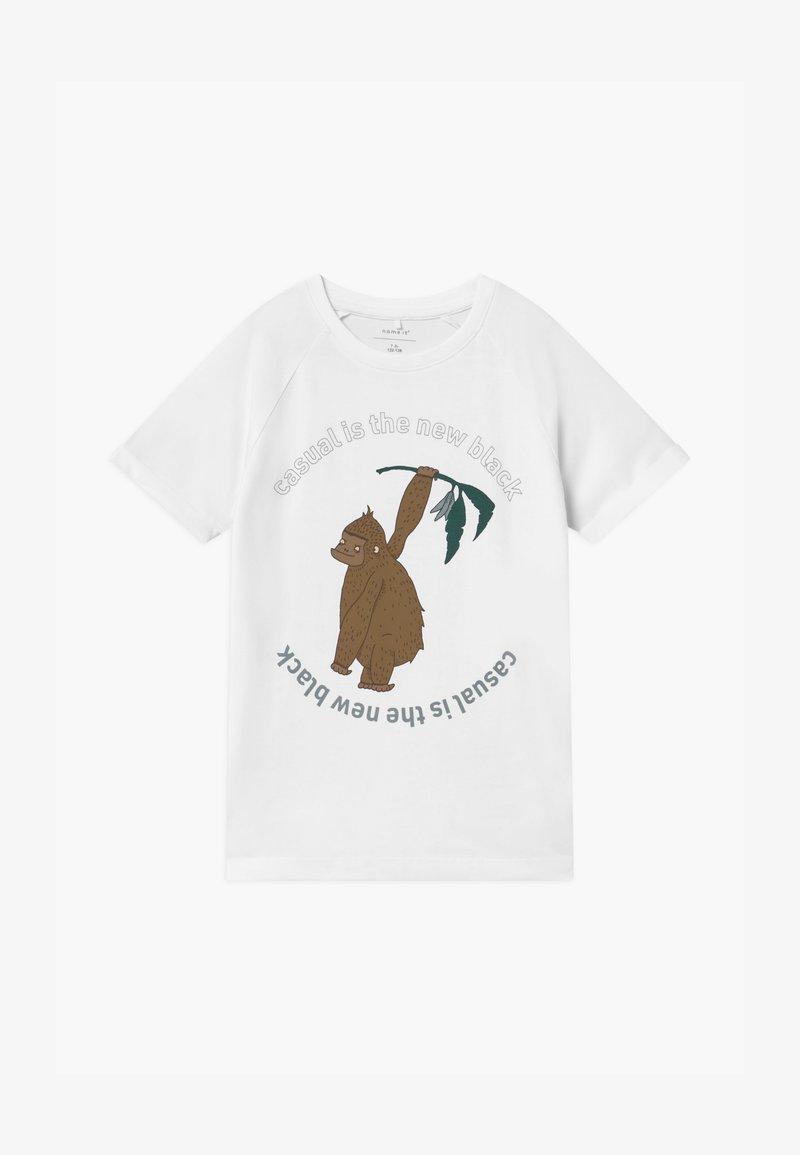 Name it - NMMJANKAS - Print T-shirt - bright white