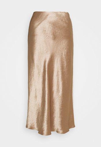 ALESSIO - Pencil skirt - kamel