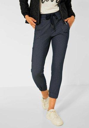 JACQUARD - Trousers - blau