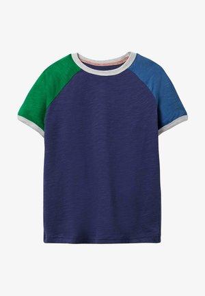 Print T-shirt - schuluniform-navy