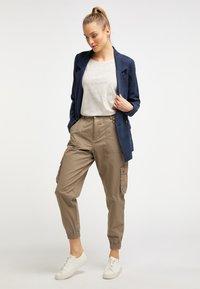 DreiMaster - Trousers - brown - 1