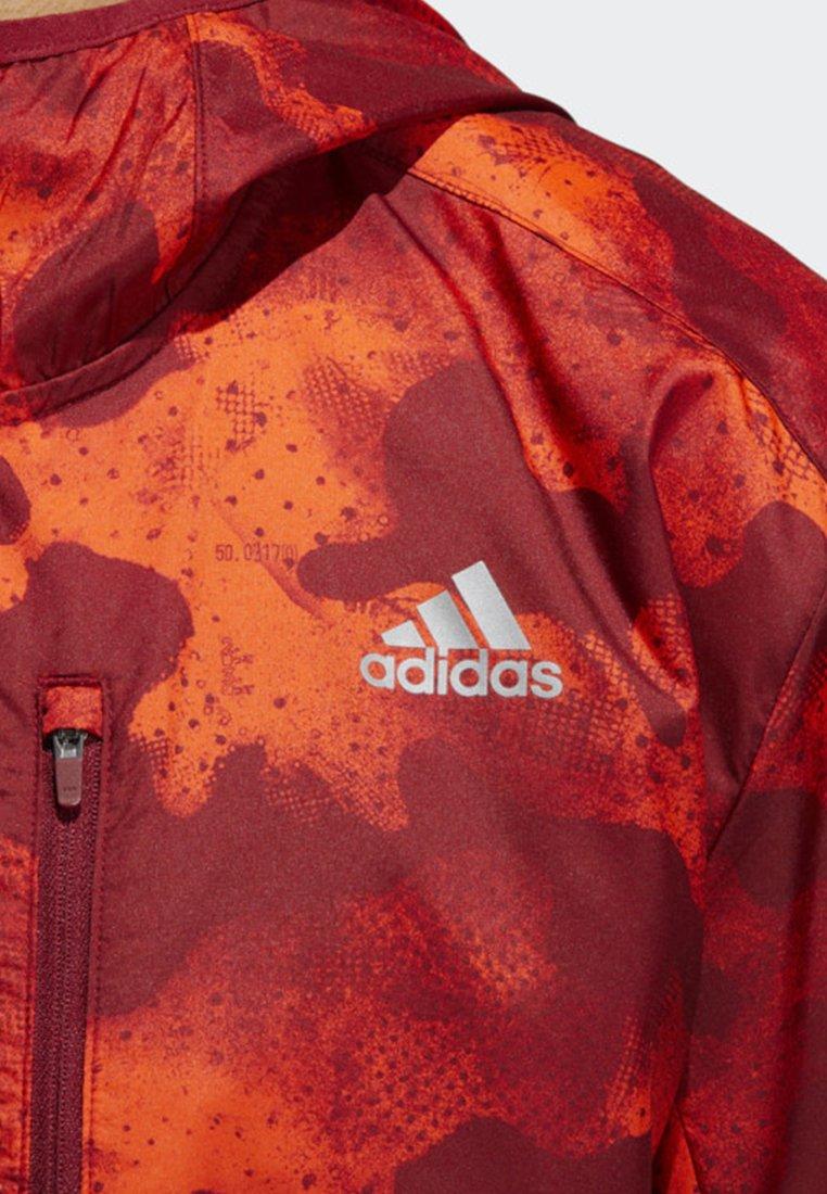adidas Own the Run Camouflage Jacket Grå   adidas Sweden