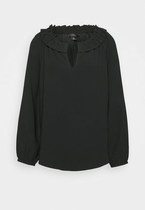 AMELIE TOP LUCKY CREPE - Bluse - black