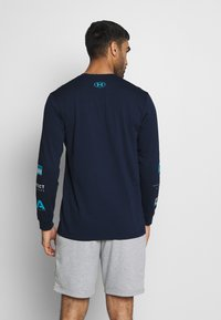 Under Armour - MULTI LOGO - Long sleeved top - academy/halo gray - 2