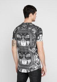 Supply & Demand - NEW YORK MIRROR - T-shirt con stampa - black/white - 2