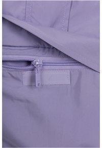 Urban Classics Curvy - LADIES LIGHT JACKET - Summer jacket - lavender/ultraviolet/white - 4
