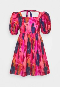 Never Fully Dressed Petite - WHO RUN THE WORLD MINI DRESS - Korte jurk - pink - 5