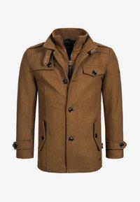 BRANDAN - Short coat - camel