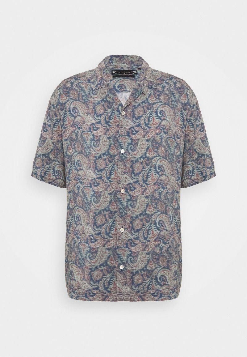 AllSaints - TRANSMISSION SHIRT - Skjorter - blue