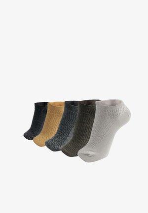 5 PACK - Socquettes - black